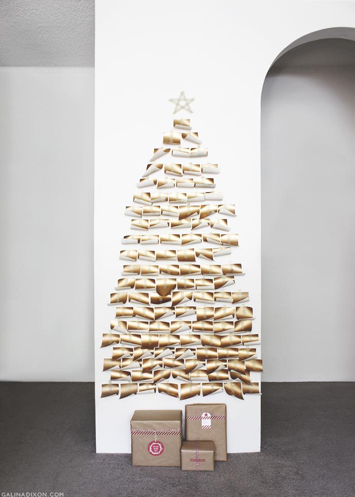 DIY Paper Christmas Tree - GalinaLovesBlog© 1