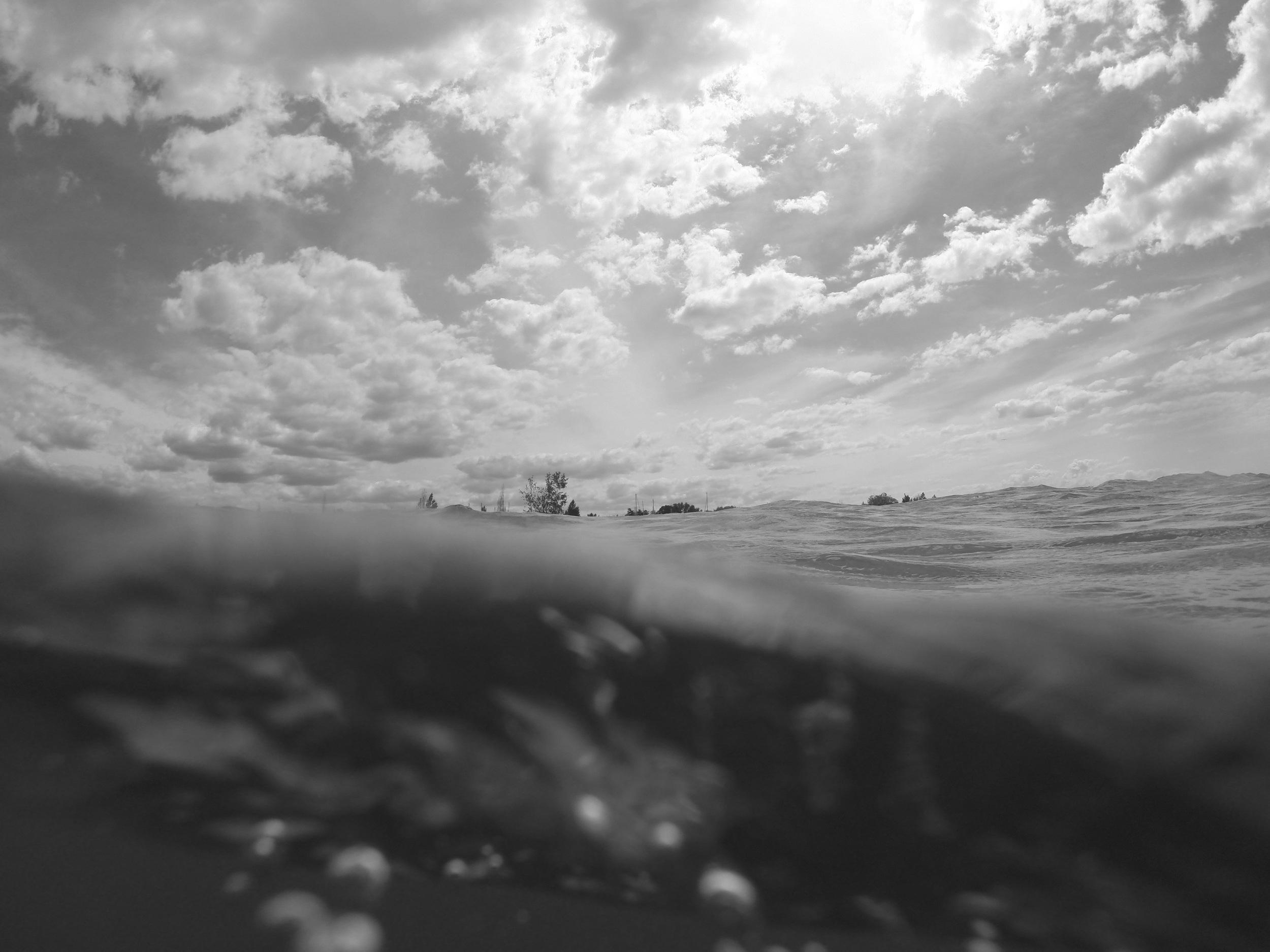 Lake Michigan Gopro