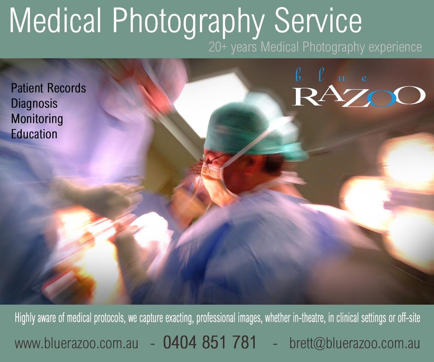 Blue Razoo - Adelaide Medical Photography