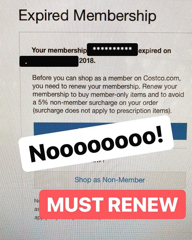 Well, we can't let this happen now can we?  #costco #member #shoppingonline #priceless #entrepreneur #smallbusiness #smallbusinessowner