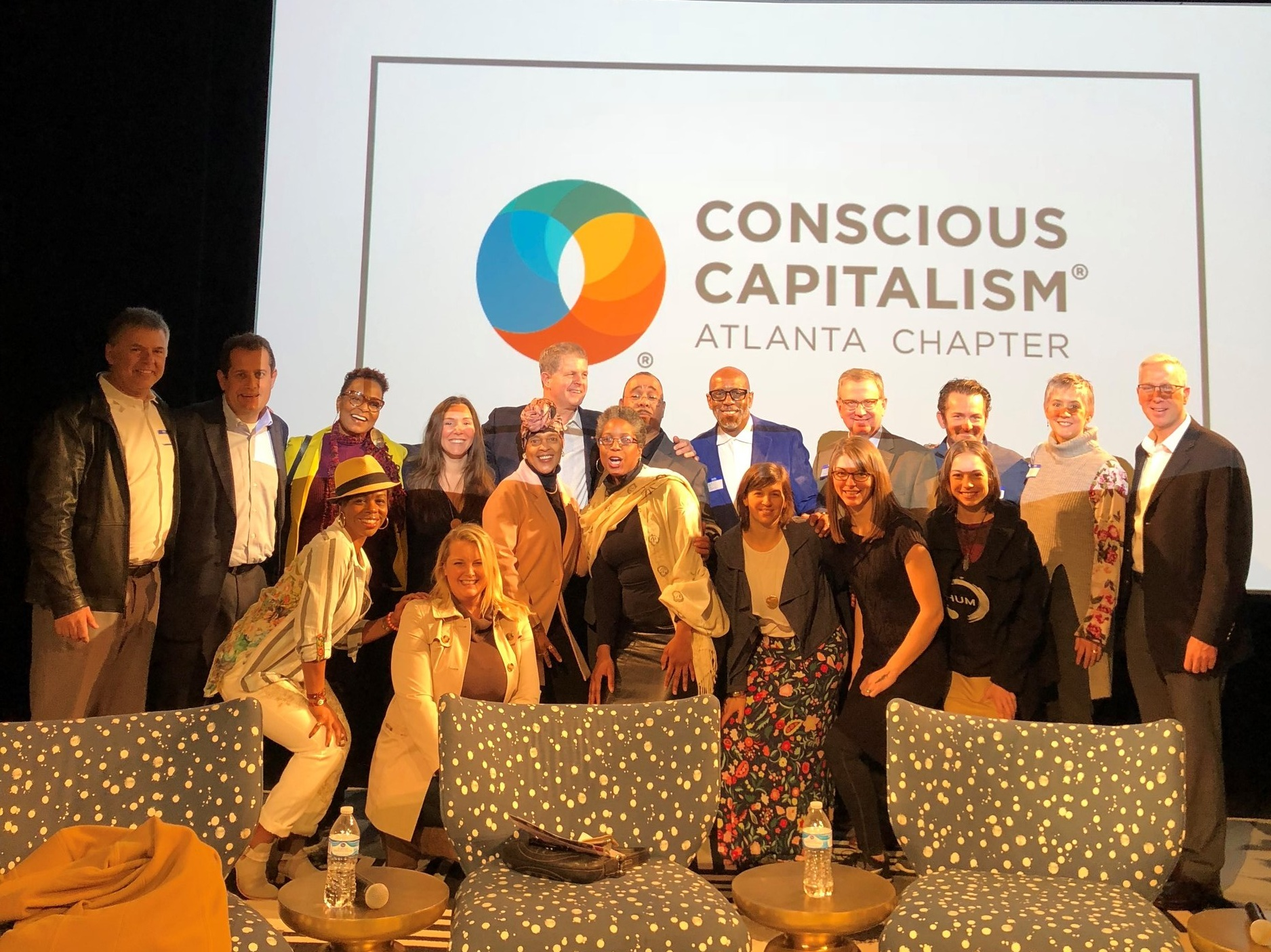 "I'm an active volunteer helping to build the   Conscious Capitalism's Atlanta Chapter   and a  ""Love & Humanity in Business"" Civic Dinner Planning Committee Member . Conscious Capitalism is on a mission to elevate humanity through business."