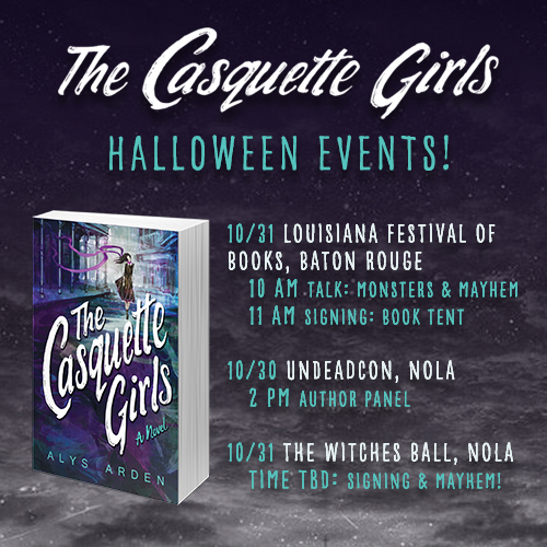 The Casquette Girls Halloween events