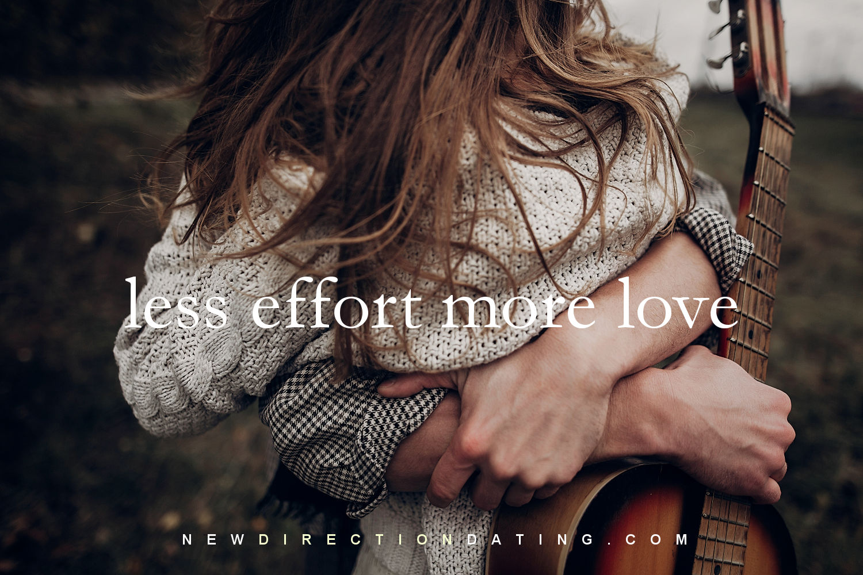 Robyn Wahlgast Less effort more love