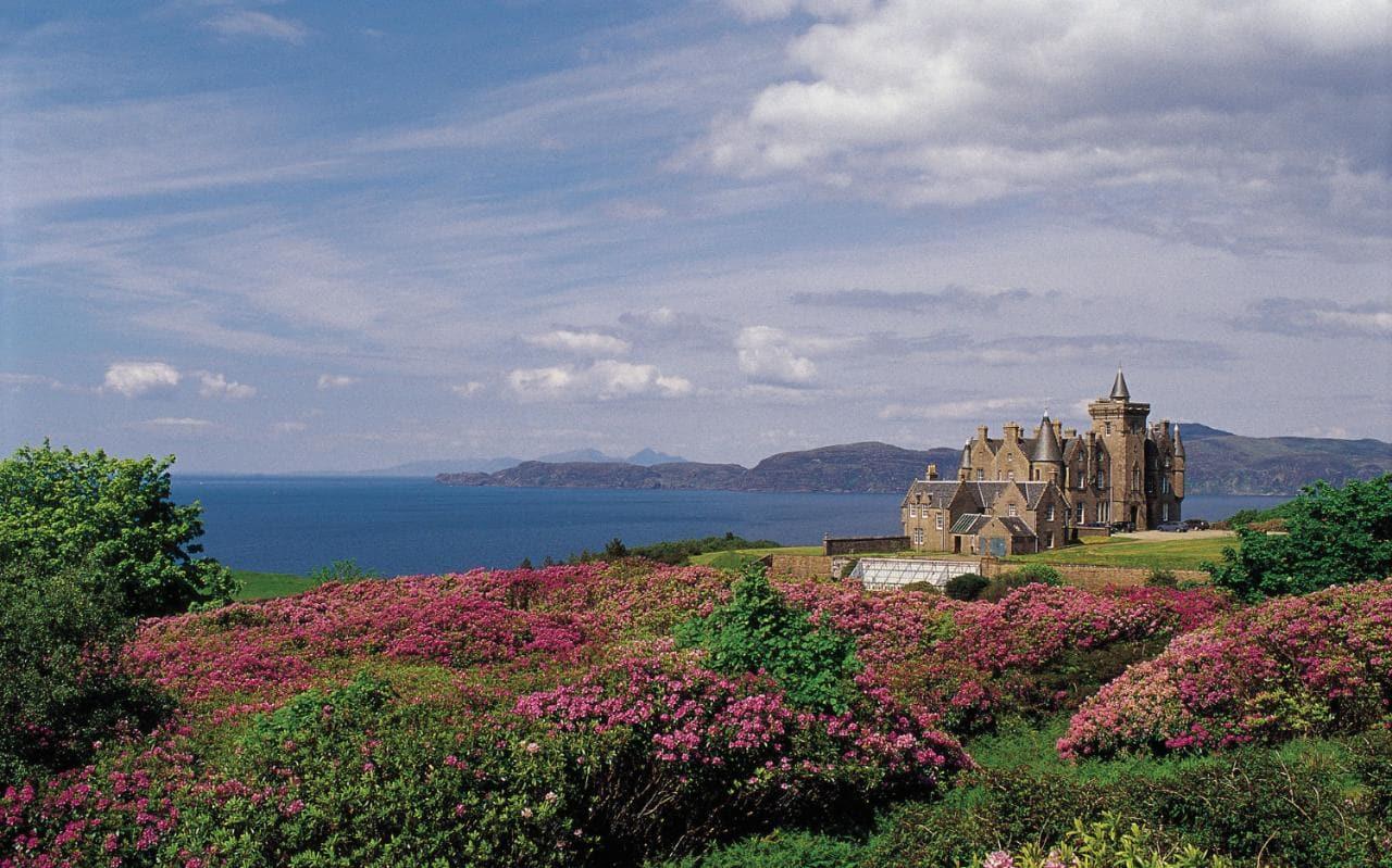 Glengorm Castle, Scotland