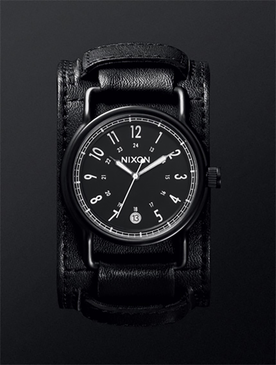 The Axe. 42mm. Horween Leather strap. Fall 2011.