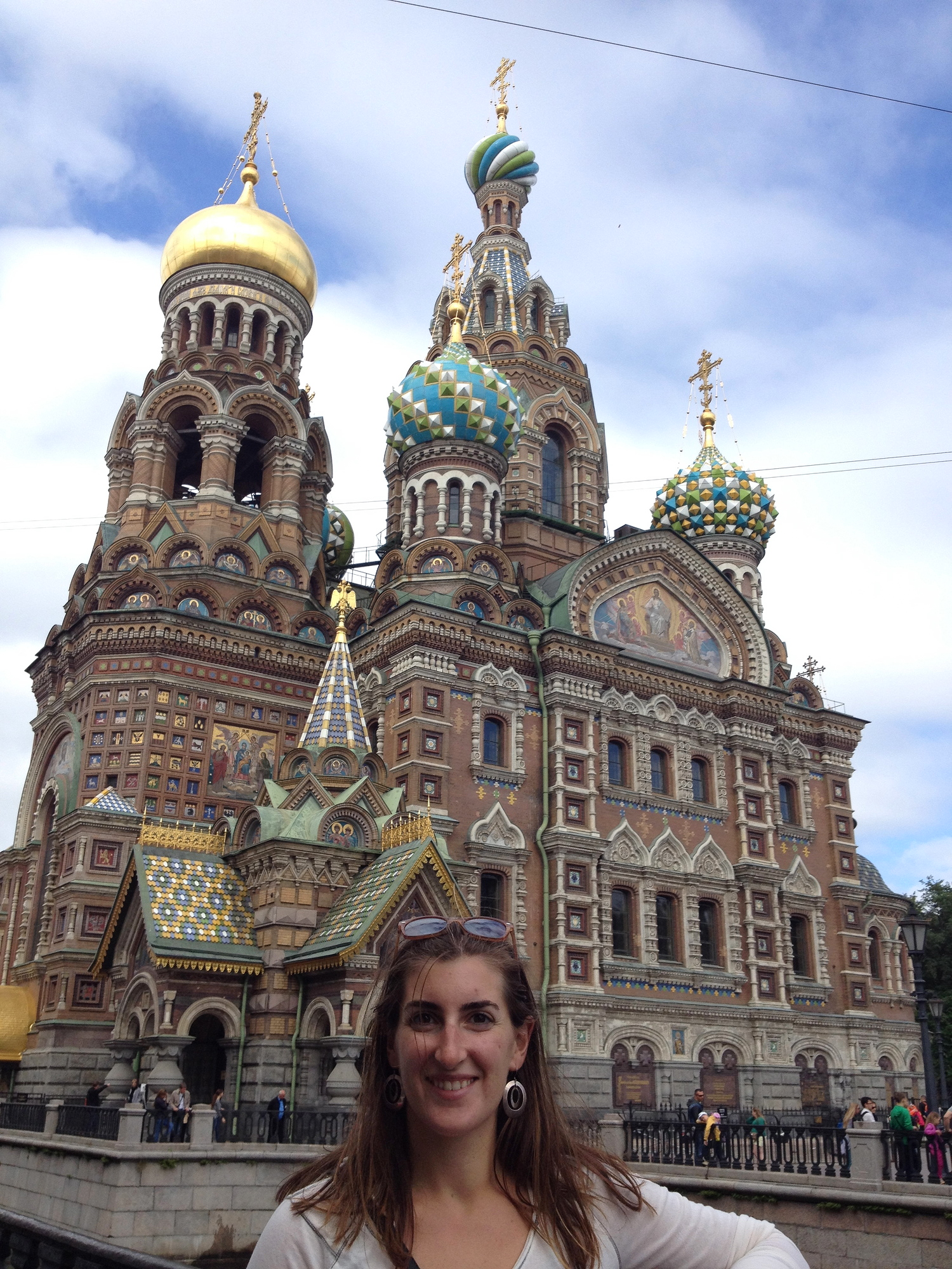 Visit to Church on Spilled Blood, Russia