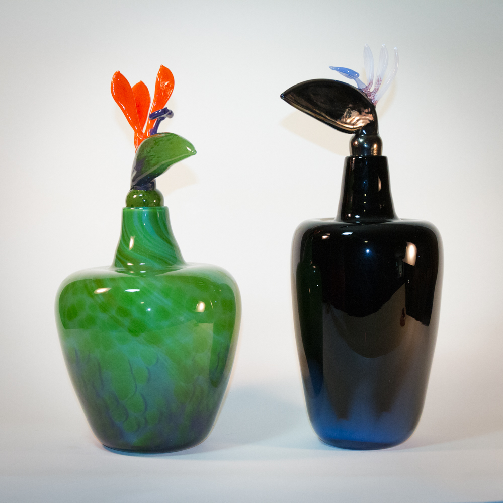 Bird of Paradise Bottles