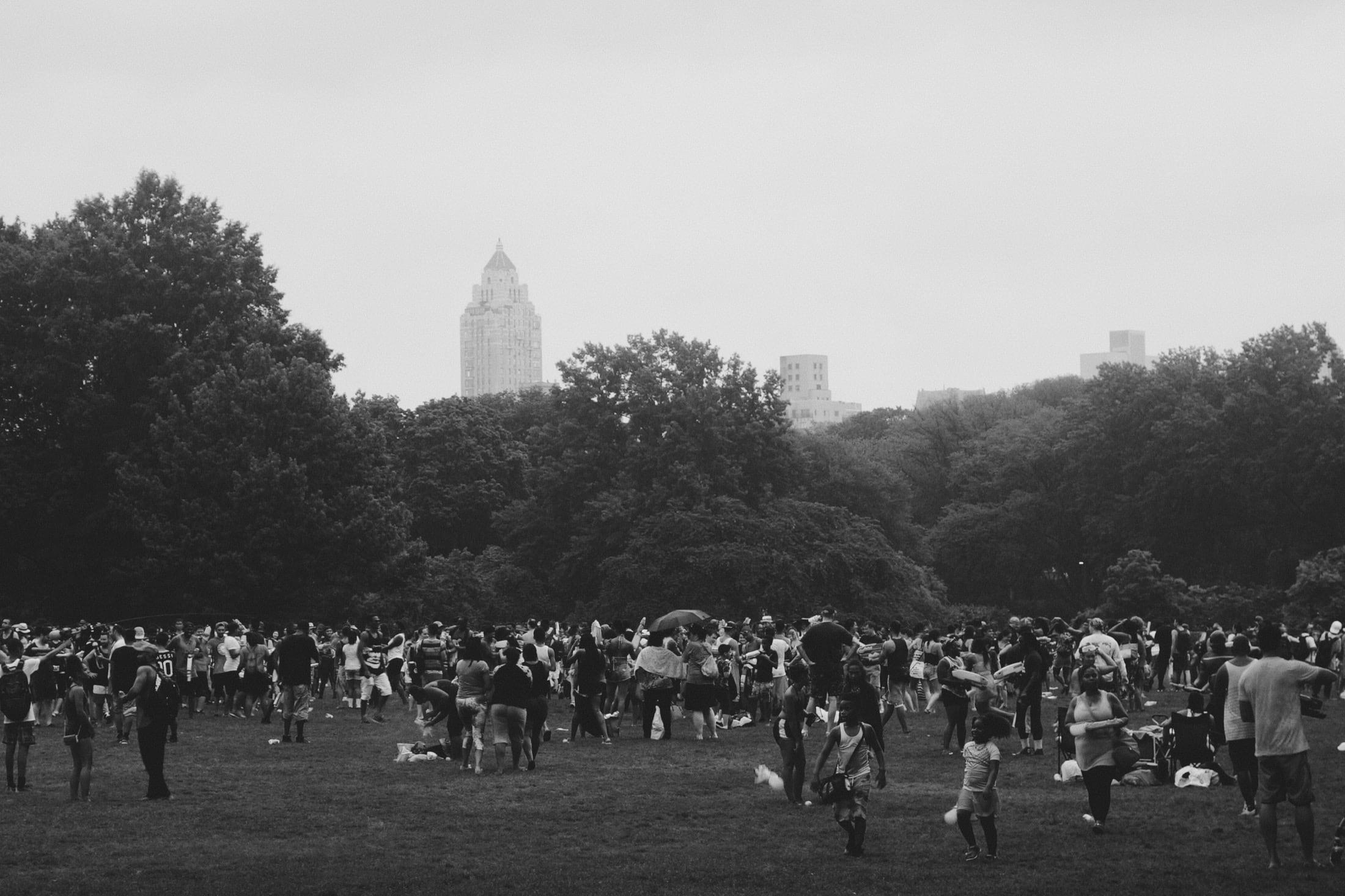 rainy central park (2016)