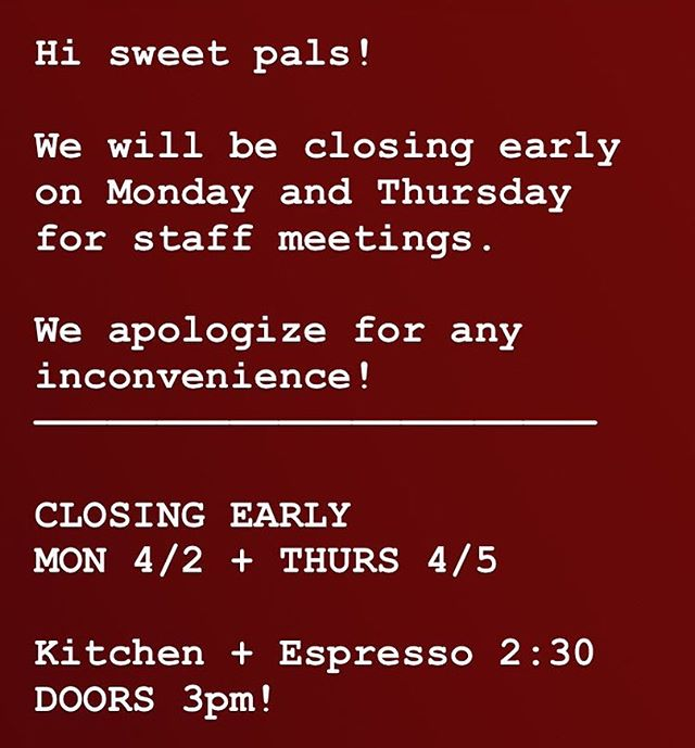 Public Service Announcement!