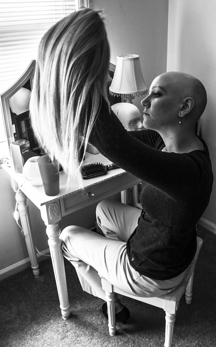 "Shipman's support group is a chapter of the National Alopecia Areata Foundation. Her goal is to make alopecia ""not a thing"" — she doesn't want people to be repelled by baldness or automatically think she's a cancer patient."