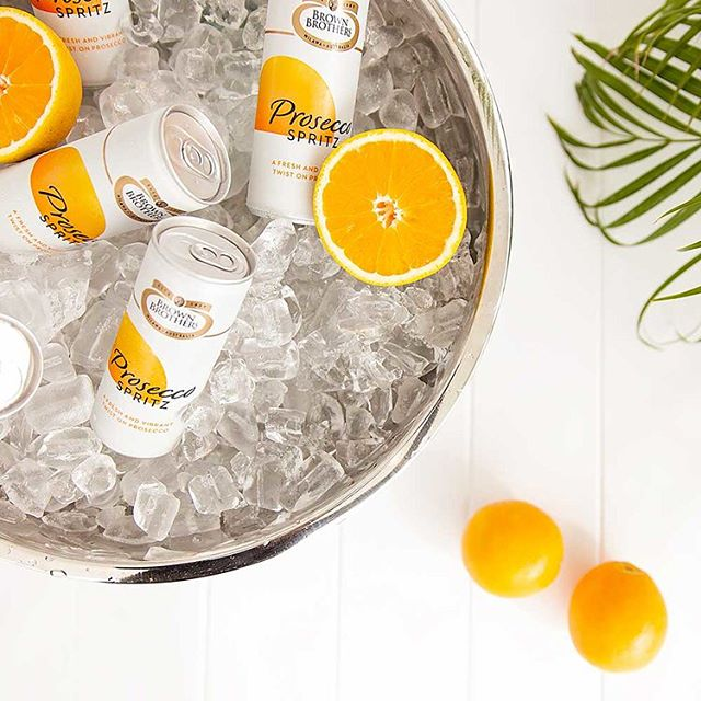 A few snaps for the @brownbrothers Prosecco Spritz in cans campaign 🍊🥂