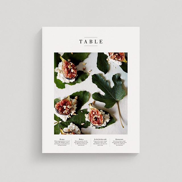 I'm so excited to share that Vol 2 of @table_magazine will be out on shelves by the end of next week! To celebrate we're hosting a launch party on July 18th from 6-9pm at @site_london Please come and join us for vegan nibbles by SITE and drinks by @andunion & @proudlyveganwines  Thank you so much to all of our amazing contributors and the Table Team for all your hard work!