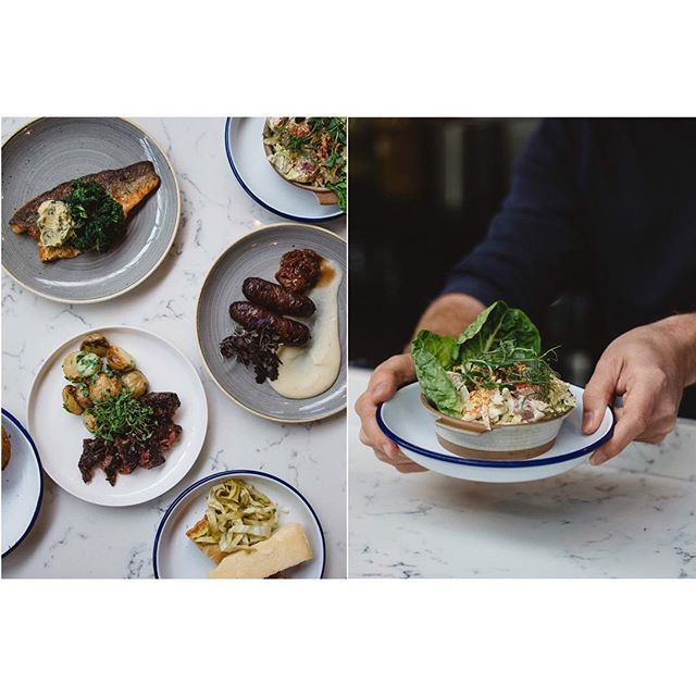Photos from a recent shoot with @plot_kitchen  I'm still dreaming about the feast of a lunch we had afterwards 😍 . . . . . #plotkitchen #londonfood #restaurantsinlondon #londonrestaurant #southlondon #eatyourveg #smallplates #englishproduce #eatlocalgrown #locallygrown #bestofbritain #buybritish #foodchain #timeoutlondon
