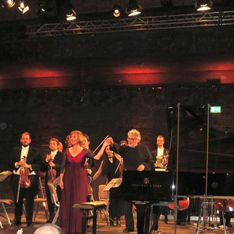 Konzert im Zollverein Essen am 9. September 2014 | Foto: privat
