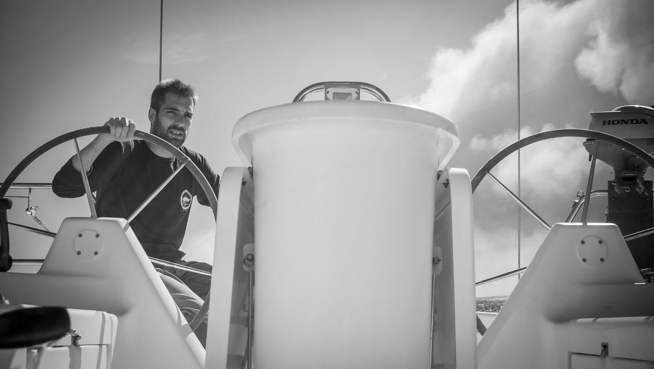 Al timón del velero