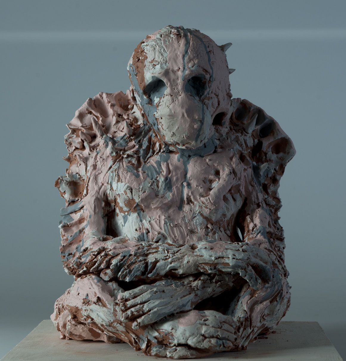 Untitled (pink ape), 2013