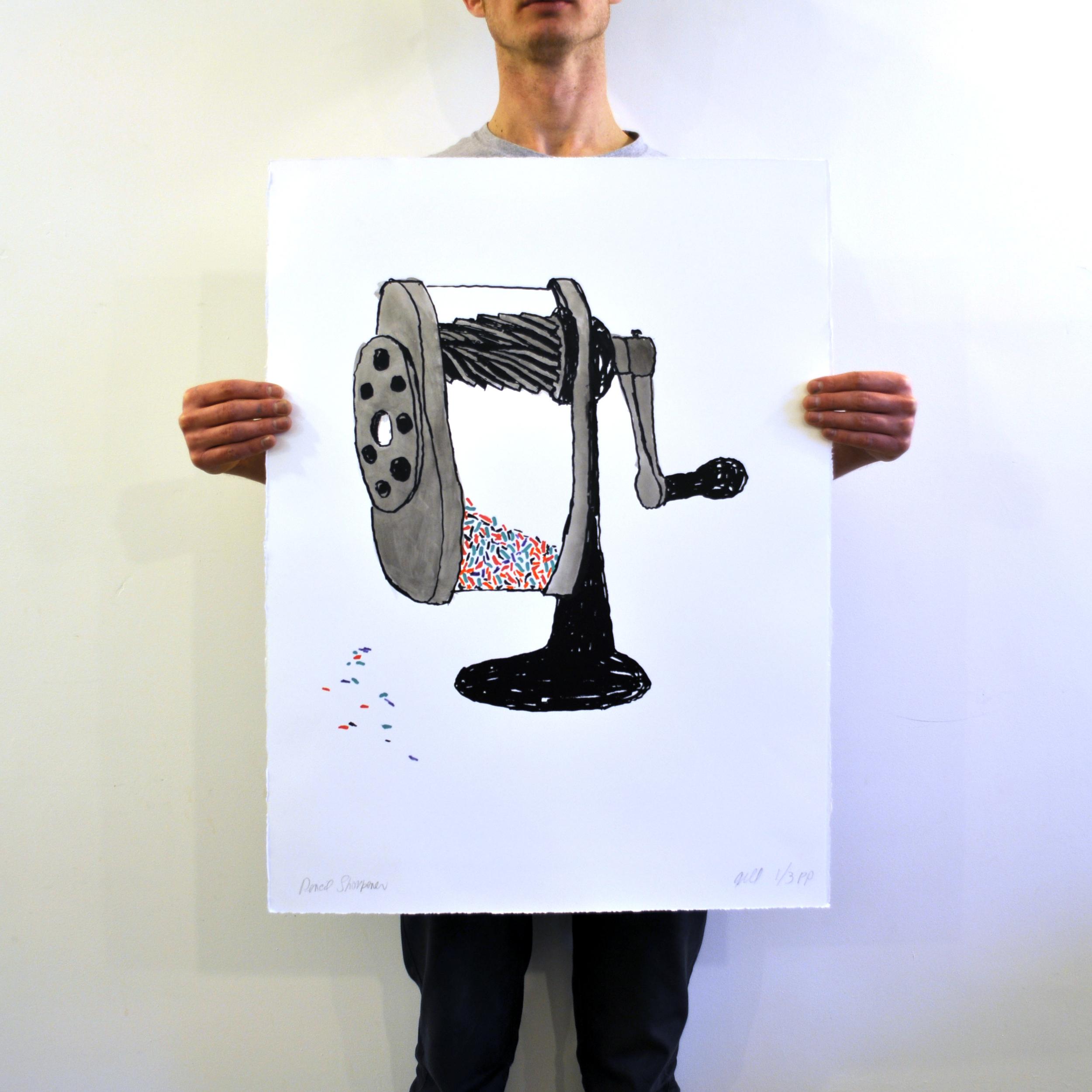 Pencil Sharpener - Bob Gill