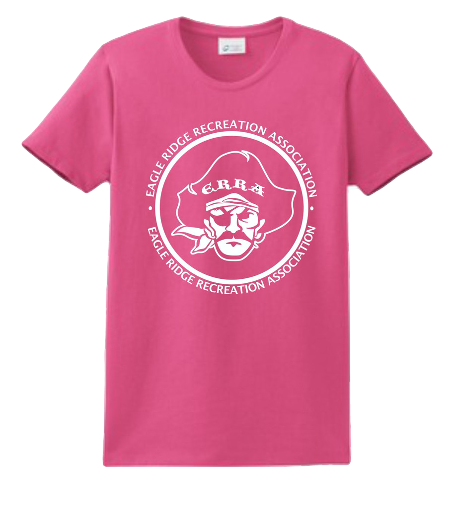 "Women's T-Shirt$12.00    A year-round essential, our best-selling t-shirt has been voted ""most popular"" by groups, teams, clubs and schools across America. Shorter cut through the body and sleeves for a more feminine fit."