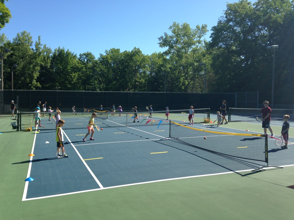 Tennis Pro Lead Competitive And Recreational Programs