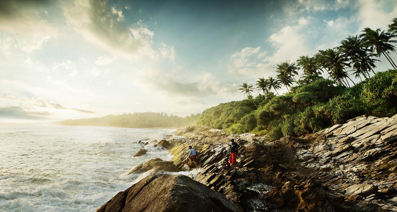 sri lanka beach advertising