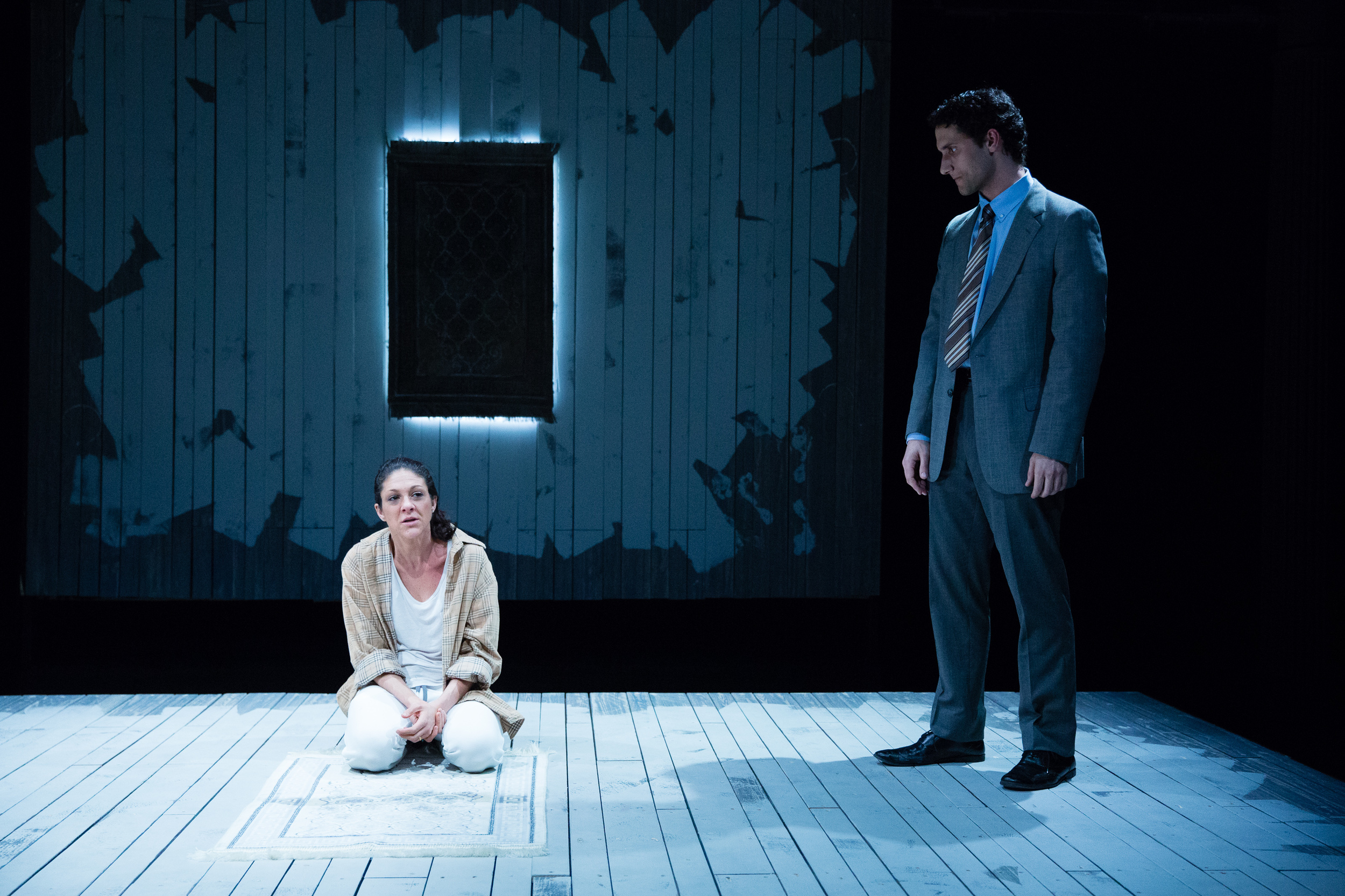 Jeff Gorcyca and Liv Harden in Two Rooms