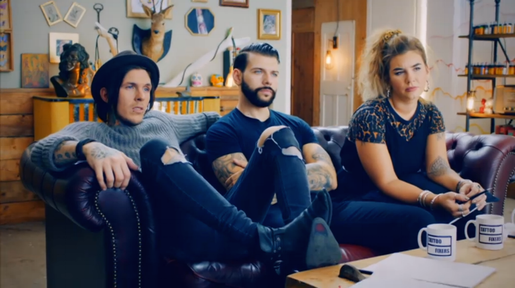 Tattoo Fixers Series 3 (E4)