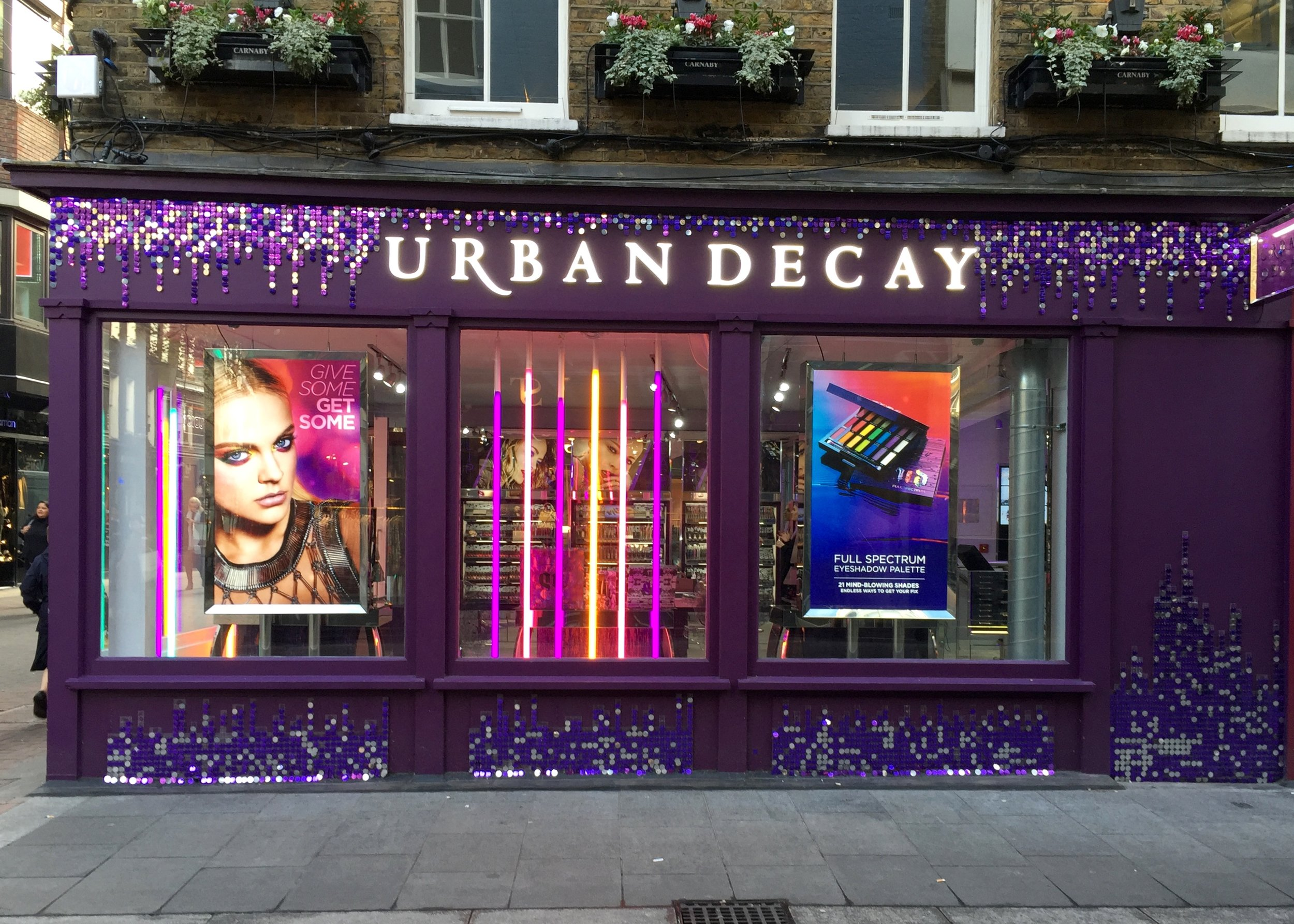 Urban Decay Flagship Store Carnaby Street