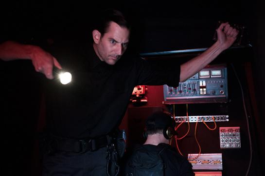 Ole Eisfeld als Drill Instructor Roalsted © Gabriela Neeb