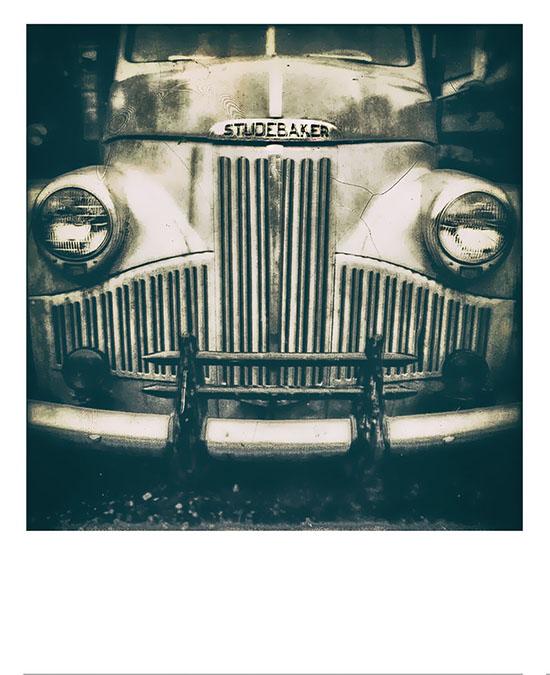 Polaroid SX-70-Old Truck/Car Collection, Mason, MI (Keweenaw Peninsula)
