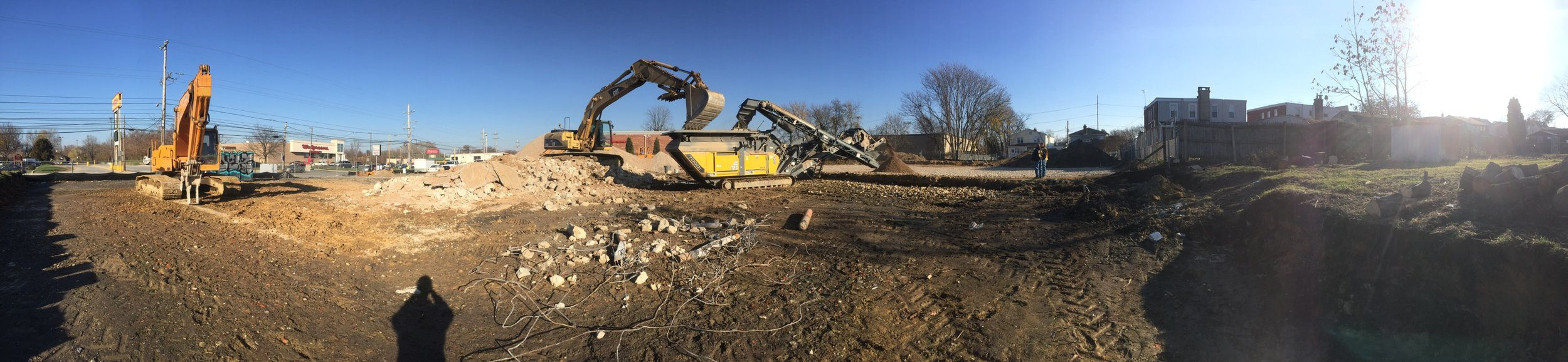 Royal Farms #221 - Crushing & Fill Material