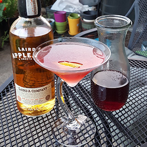 A little Laird's, some lemon, and grenadine...