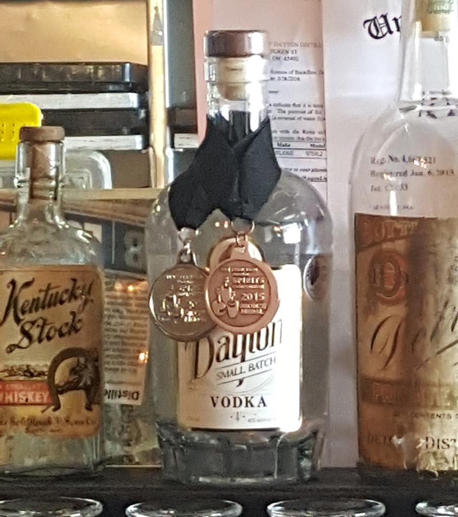 Belle of Dayton Vodka
