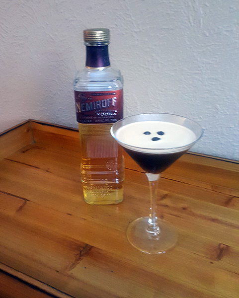 The classic Espresso Martini.