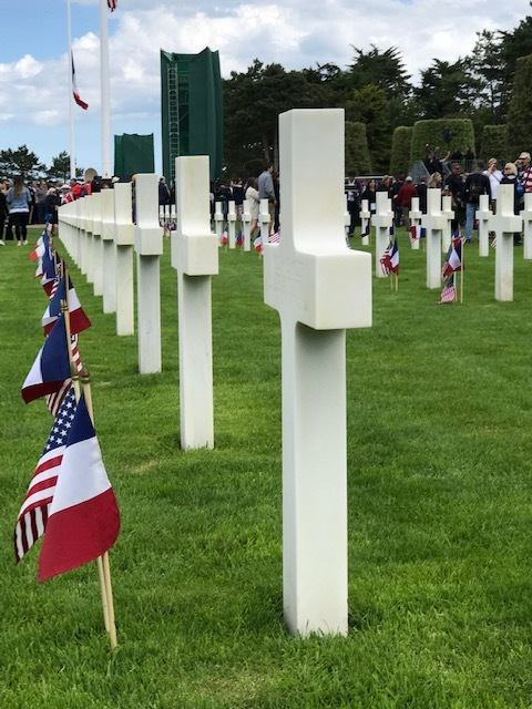 Flanders field american military cemetery 75th anniversary of D-day.jpg