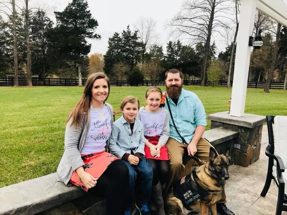 In 2012, Michael was injured in an IED blast in Afghanistan while deployed as an Army Reservist. His wife and caregiver, Jackie, reached out to Code of Support – click here to read about Michael and Jackie's story and their experience with COSF.