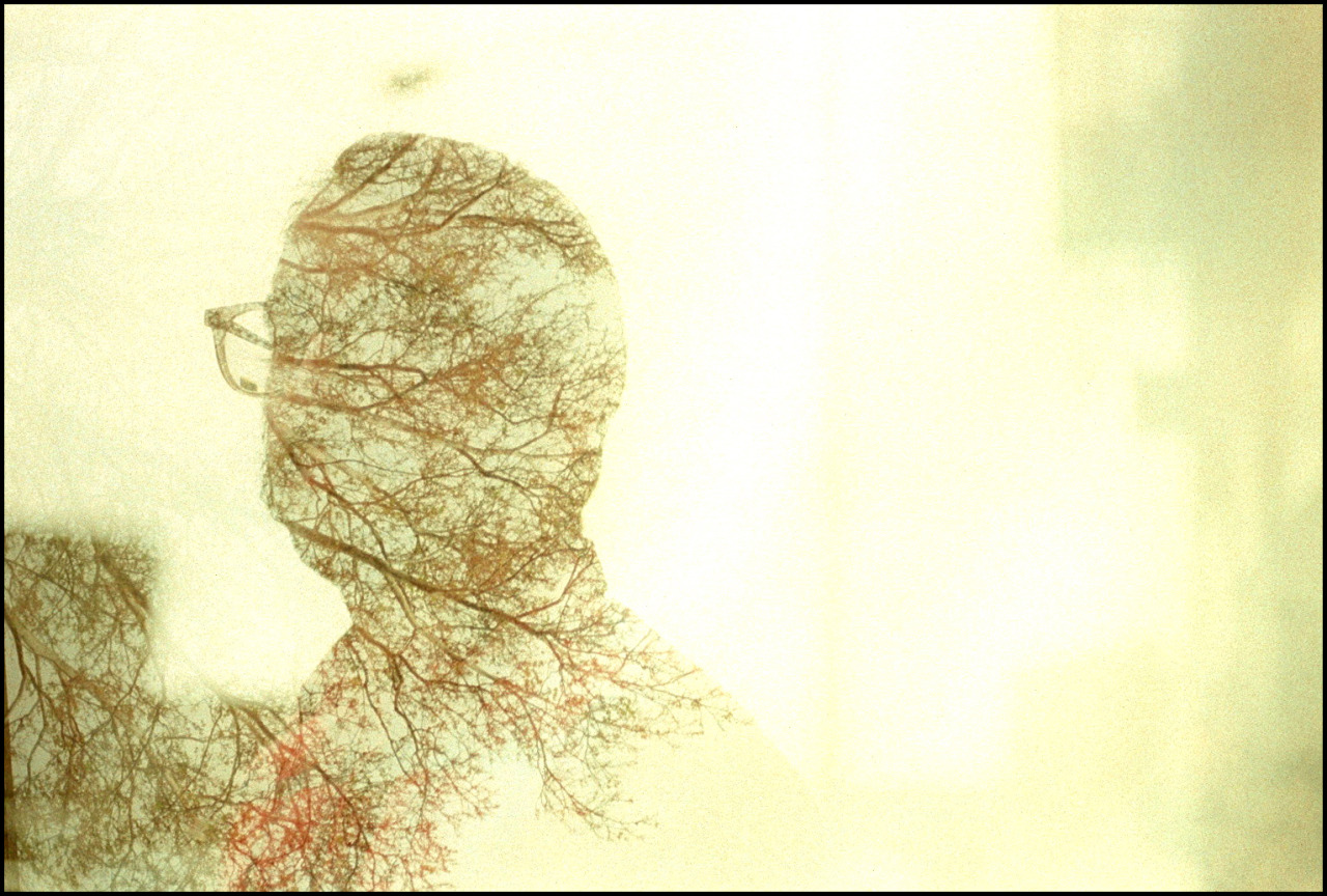 double exposure of Nick, 2011