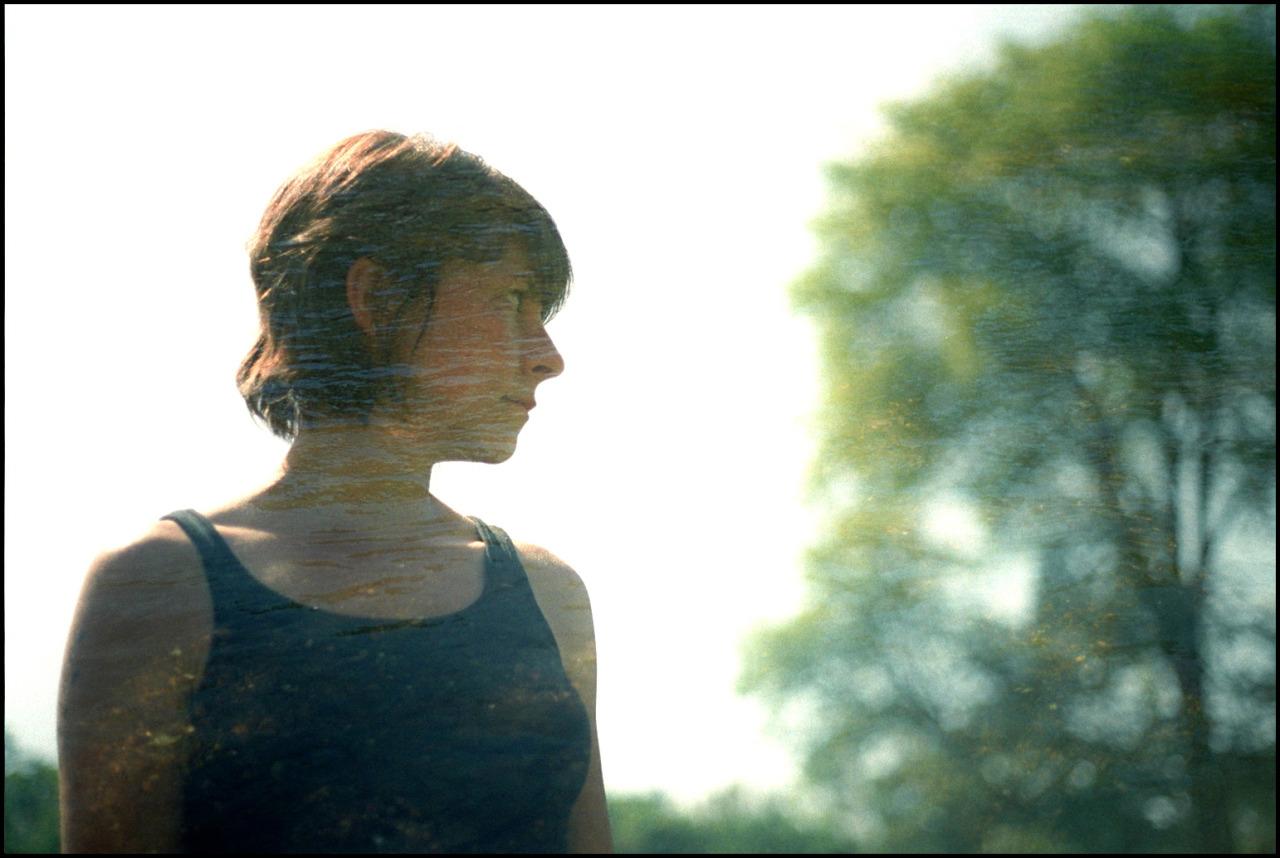 Joanna, 2011. Double exposure, 35mm.