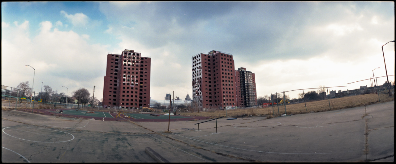 Saying goodbye to these buildings.