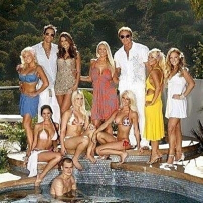 CAST OF ETV'S HIT SHOW SUNSET TAN