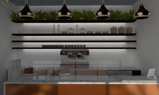 patisserie - Interior Design