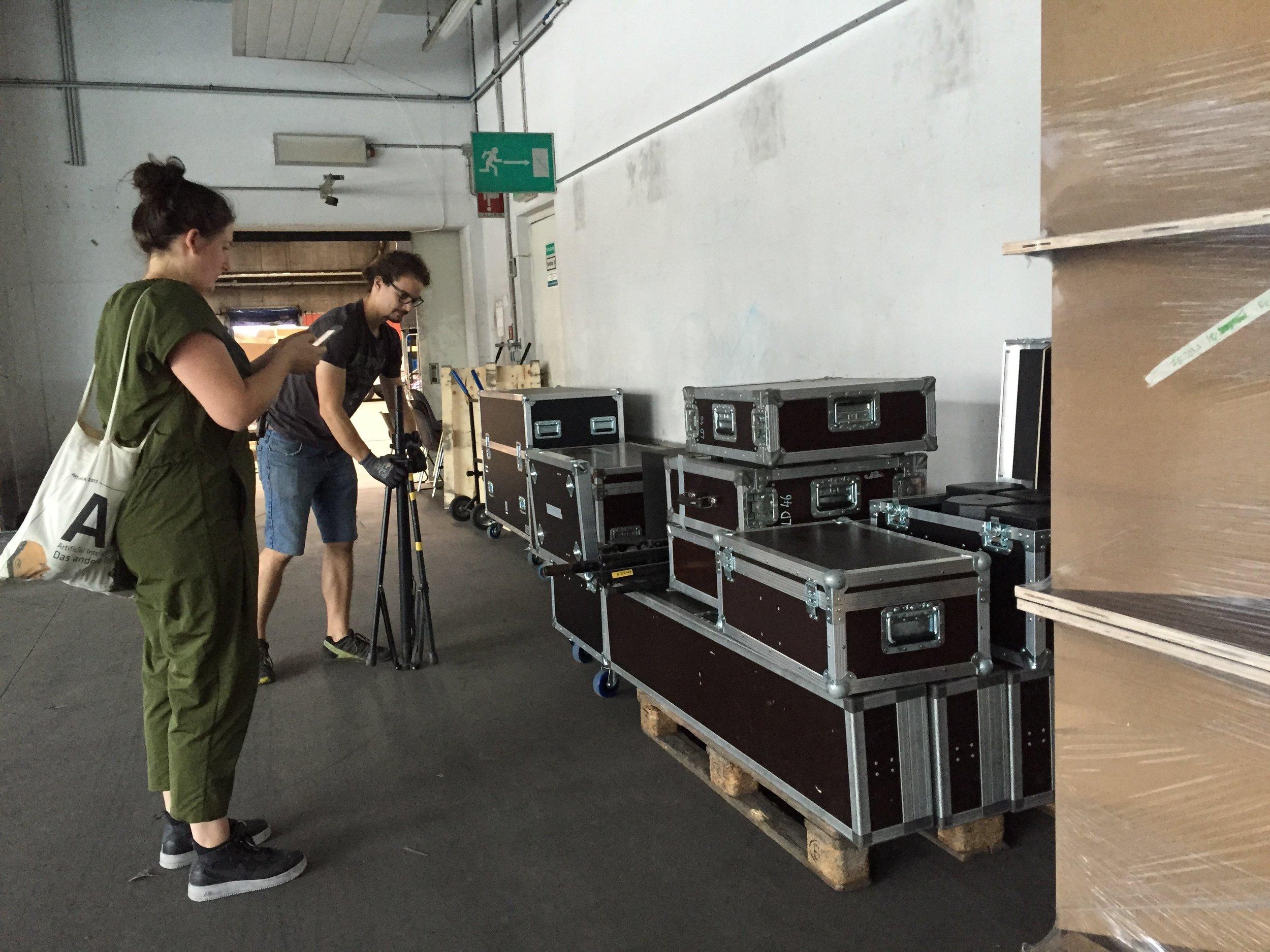 Checking equipment before installing