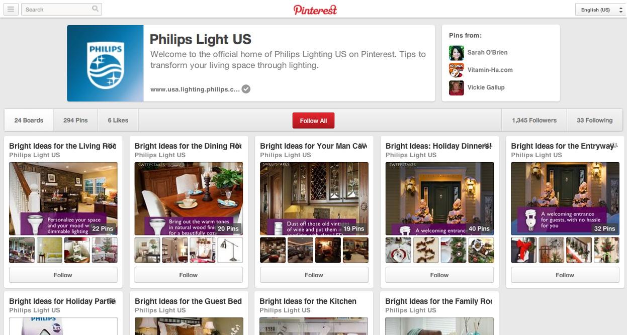 Bright Ideas Pinterest