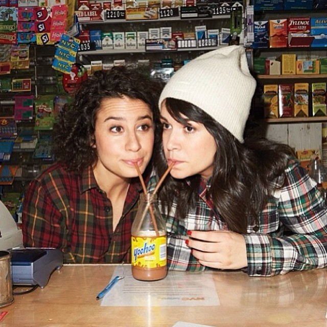 Seriously ❤️ you @broadcity @ilanusglazer @abbijacobson ! Super fun shoot w/ @yopeteryang for @massappeal issue 54. Can't wait for season 2! #SQ