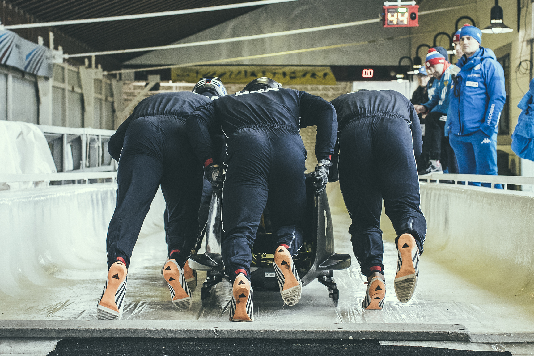 USA Bobsledding Team