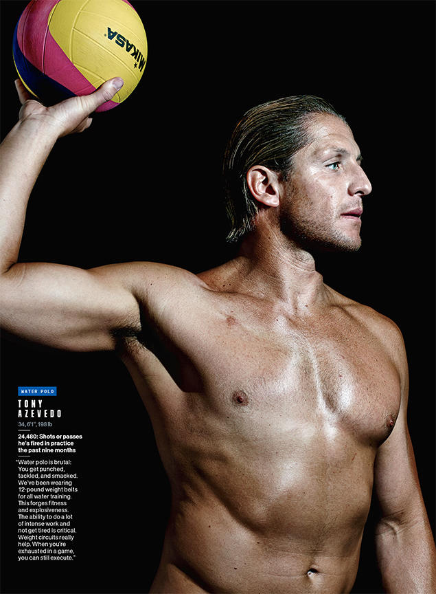 Tony Azevedo, Olympian- Water Polo