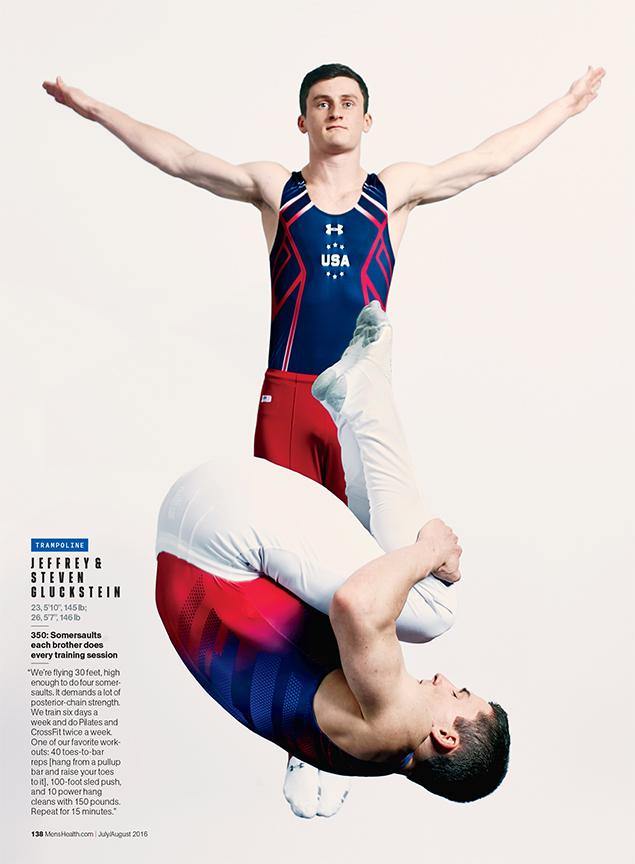 Jeffrey & Steven Gluckstein, Olympians- Trampoline