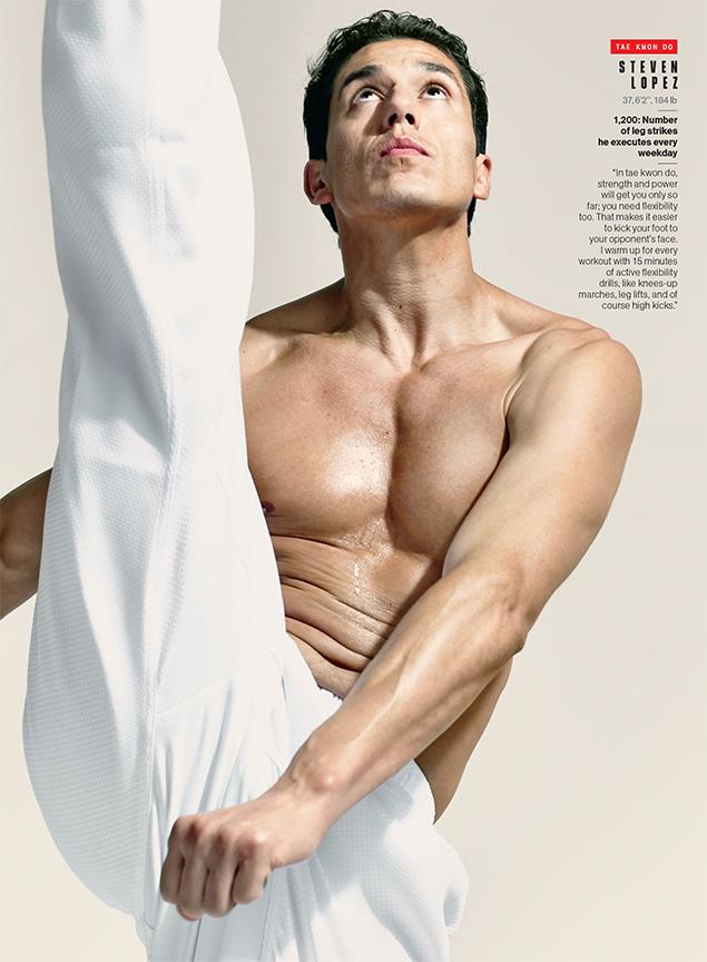 Steven Lopez, Olympian- Tae Kwon Do