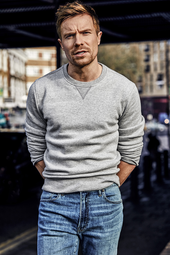 Men's Health: Denim Guide w/ Joe Dempsie