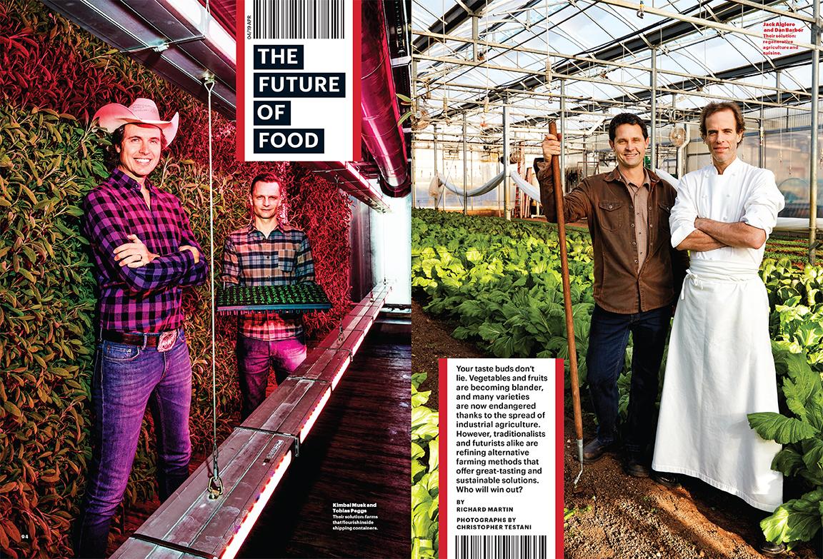 Future of Food: Kimbal Musk, Tobias Peggs, Jack Algiere & Dan Barber