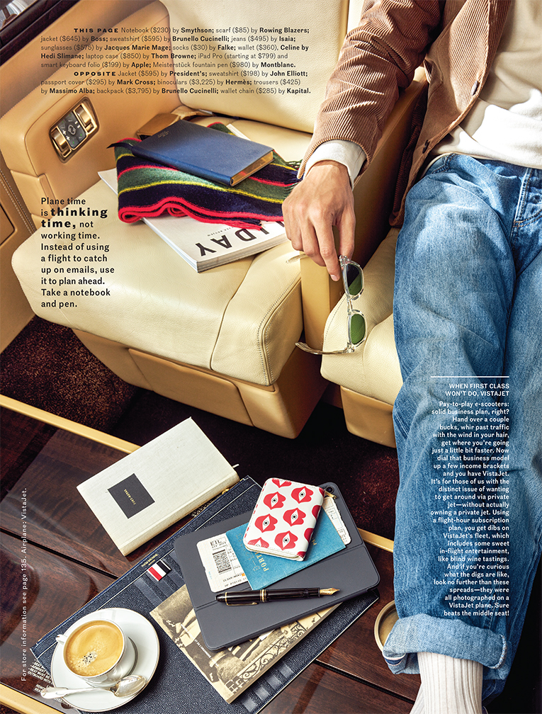Esquire: Travel accessories